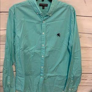 Men's express size medium button up shirt